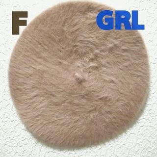 グレイル(GRL)の新品 GRL ファー ベレー帽♥️夢展望 GU(ハンチング/ベレー帽)