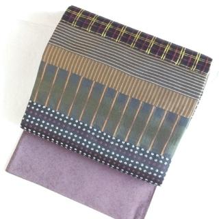 ニシジン(西陣)の西陣織 袋帯 両面 リバーシブル 弥栄織物(帯)