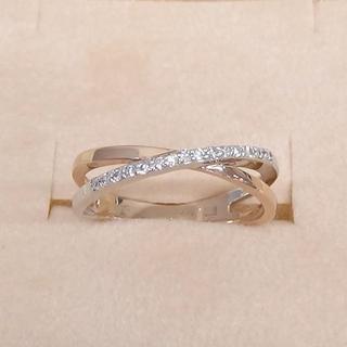 クミキョク(kumikyoku(組曲))の組曲 18金ダイヤリングです(リング(指輪))
