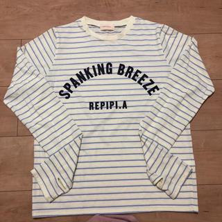 レピピアルマリオ(repipi armario)のレピピアルマリオ☆ 長袖Tシャツ☆M 160(Tシャツ/カットソー)