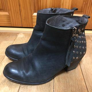 シップスフォーウィメン(SHIPS for women)のSHIPS シップス  牛革製 スタッズデザイン ショートブーツ(ブーツ)