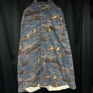 コロンビア(Columbia)のレア Columbia 鳥 BD アウトドアシャツ(シャツ)