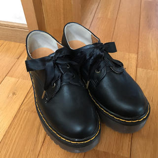 グレイル(GRL)のグレイル 厚底レースアップシューズ 23.5cm(ローファー/革靴)