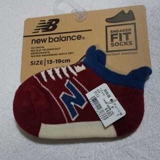 ニューバランス(New Balance)のニューバランス 靴下 13センチ~ 赤紫(靴下/タイツ)