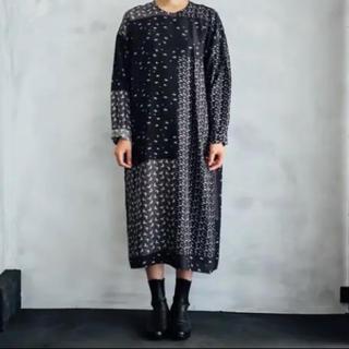 ミナペルホネン(mina perhonen)のtowavase Sarasa silk dress ワンピース(ロングワンピース/マキシワンピース)