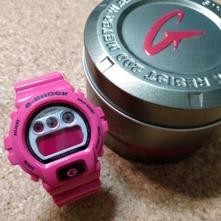 ジーショック(G-SHOCK)のCASIO G-SHOCK【DW-6900CS】ピンク(腕時計(デジタル))
