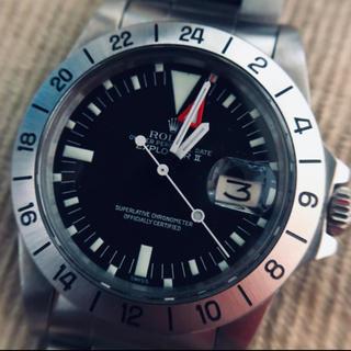 ロレックス(ROLEX)のアンティーク 1655 EX2 純正文字盤 機械 パーツ一式(腕時計(アナログ))
