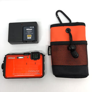 Nikon - Nikon デジタルカメラ COOLPIX AW100 サンシャインオレンジ