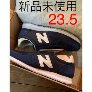 New Balance - ニューバランス スニーカー U220 ネイビー 23.5cm D
