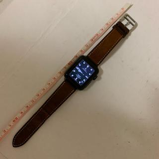 エルメス(Hermes)のHERMES アップル ウォッチ 38mm用 エルメス レザー ベルト 正規品(腕時計(デジタル))