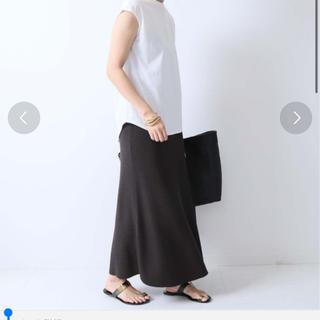 ノーブル(Noble)のNOBLE ニットフレアスカート(ロングスカート)