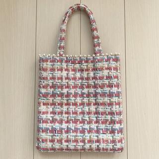 チェスティ(Chesty)のFleur Tweed tote bag(トートバッグ)