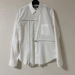 ブラックコムデギャルソン(BLACK COMME des GARCONS)のBLACK COMME DES GARÇONS ジップシャツ 19aw(シャツ)