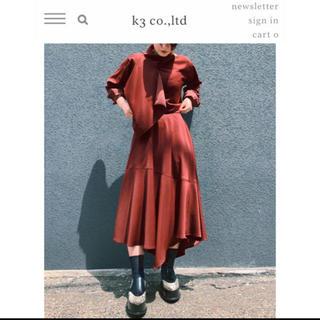 ジーヴィジーヴィ(G.V.G.V.)のG.V.G.V k3♡アシンメトリースカート(ロングスカート)
