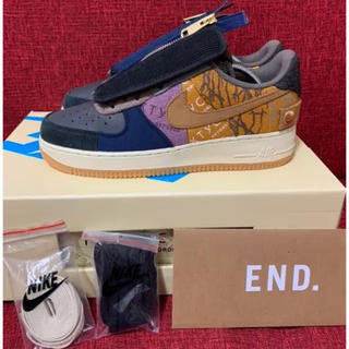 ナイキ(NIKE)のTRAVIS SCOTT × NIKE AIR FORCE 1 LOW (スニーカー)