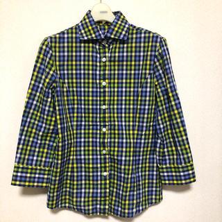 ナラカミーチェ(NARACAMICIE)のNARACAMICIE ギンガムチェックシャツ(シャツ/ブラウス(長袖/七分))