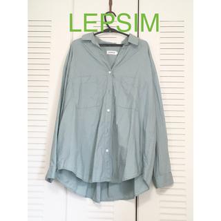 レプシィム(LEPSIM)のLEPSIM 襟ぬきシャツ FREEサイズ(シャツ/ブラウス(長袖/七分))