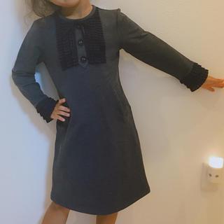 アナスイミニ(ANNA SUI mini)のMINI FEEL カットワンピ ネイビー 110(ワンピース)