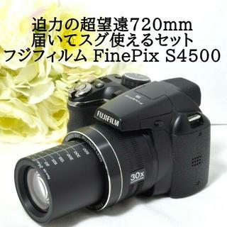 フジフイルム(富士フイルム)の★極上美品&届いてスグ使えるセット★フジフィルム FinePix S4500(コンパクトデジタルカメラ)