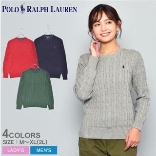 POLO RALPH LAUREN - 【新品未使用】ポロラルフローレン ケーブル ニット セーター ラルフローレン