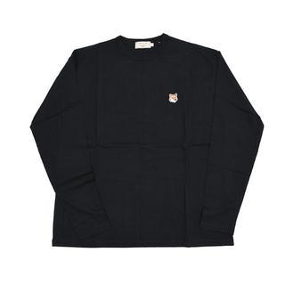メゾンキツネ(MAISON KITSUNE')のMAISON KITSUNE' メゾン キツネ キツネ 長袖Tシャツ ロンT S(Tシャツ/カットソー(七分/長袖))