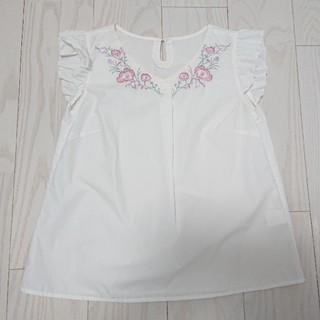 トッコ(tocco)のtocco closet 刺繍トップス(カットソー(半袖/袖なし))