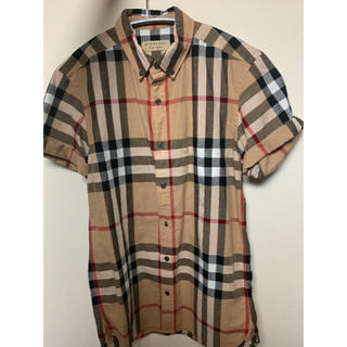 バーバリー(BURBERRY)のバーバリー 半袖シャツ レディース チェックシャツ(シャツ/ブラウス(半袖/袖なし))