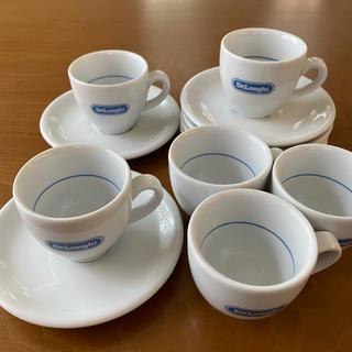 デロンギ(DeLonghi)のDeLonghi 【トニャーナ】 エスプレッソカップ&ソーサー 6客(グラス/カップ)