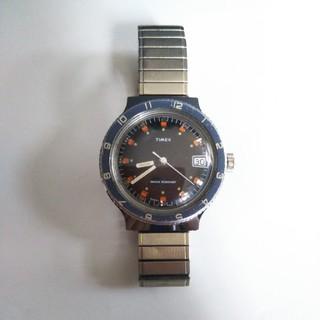 タイメックス(TIMEX)のTimex タイメックスヴィンテージダイバーズウォッチ 青ベゼル(腕時計(アナログ))