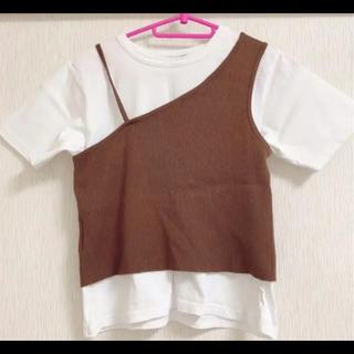 ヘザー(heather)のTシャツ ビスチェ heatherセット商品(Tシャツ(半袖/袖なし))
