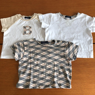 バーバリー(BURBERRY)のバーバリーTシャツ3枚セット 汚れ確認用(Tシャツ)