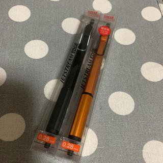 ミツビシエンピツ(三菱鉛筆)のジェットストリームエッジjetstreamEDGE2020年限定ブラックオレンジ(ペン/マーカー)