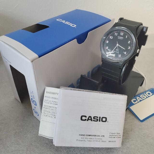 CASIO(カシオ)の新品★人気商品★CASIO カシオ ラウンドフェイス腕時計 MQ-24 レディースのファッション小物(腕時計)の商品写真