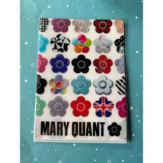 マリークワント(MARY QUANT)のマリークワント●クリアファイル●非売品●新品(ノベルティグッズ)