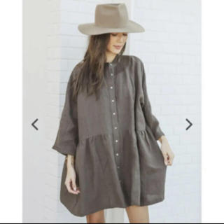 ALEXIA STAM - ALEXIA STAM Stand Collar Shirt Dress