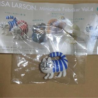 Lisa Larson - リサラーソン  ミニチュアファブリカvol.4 ベイビーマイキー  青