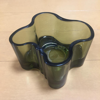 イッタラ(iittala)のイッタラ アアルト キャンドルホルダー(ガラス)