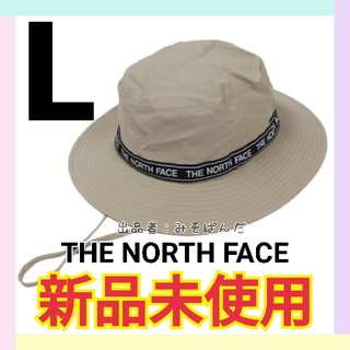 THE NORTH FACE - 【新品未使用】THE NORTH FACE レタードハット WB Lサイズ