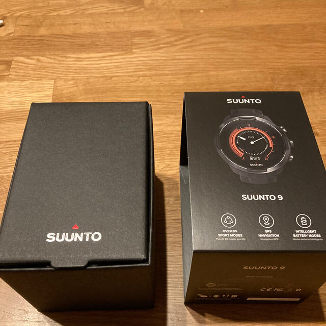 SUUNTO(スント)の[新品]SUUNTO 9 GEN1 BARO BLACK スント9 バロ メンズの時計(腕時計(デジタル))の商品写真