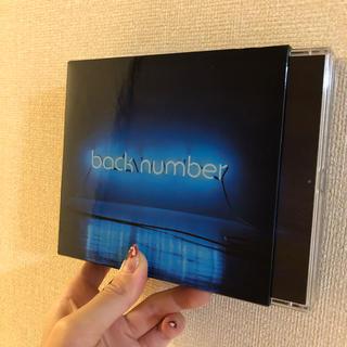 バックナンバー(BACK NUMBER)のbacknumber アルバム(ポップス/ロック(邦楽))