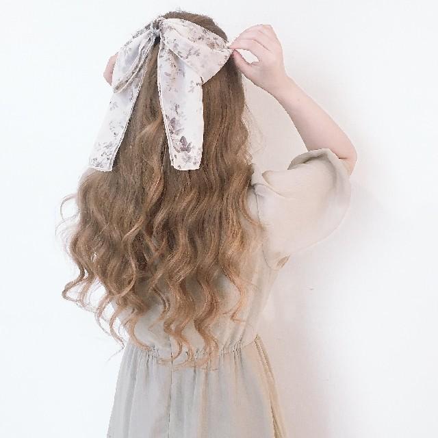 evelyn(エブリン)のAnMILLE シフォンリボンゴム レディースのヘアアクセサリー(ヘアゴム/シュシュ)の商品写真
