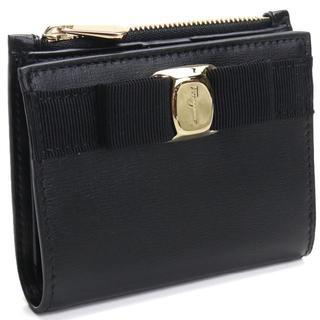 Salvatore Ferragamo - フェラガモ ヴァラ・リボン 2つ折り財布 ミニ財布