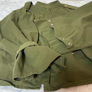 ディーホリック(dholic)のDHOLICカーキジャケット(ミリタリージャケット)