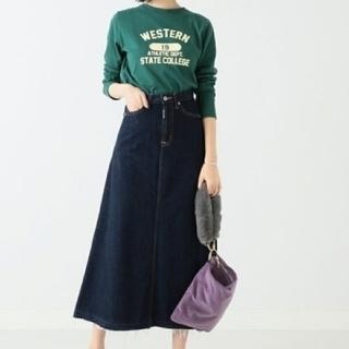 BEAMS - 新品 BEAMS × SOMETHING デニム ロングスカート