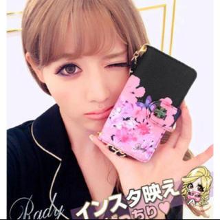 Rady - 新品♡Rady♡トロピカルピンク手帳型iPhoneケース♡