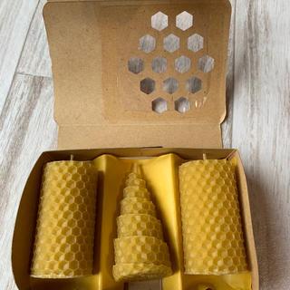 山田養蜂場 - 山田養蜂場 ビーハッピーキャンドル