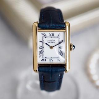 Cartier - 極美品✨カルティエ マストタンク SM ホワイト✨ロレックス オメガ エルメス
