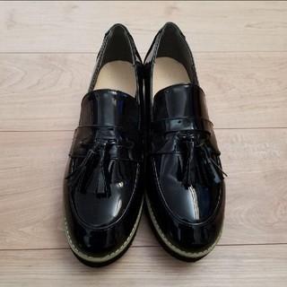 グレイル(GRL)のローファー 黒 新品未使用 GRL(ローファー/革靴)