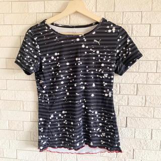 プーマ(PUMA)のPUMA レディース  スポーツウェア Tシャツ 半袖(ウェア)