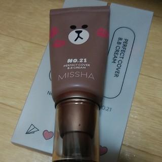 ミシャ(MISSHA)のミシャ パーフェクトカバーBBクリーム 21番 LINE仕様(BBクリーム)